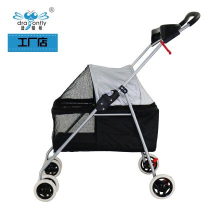 15kg four wheel folded Pet Strollers 6 Colours Available