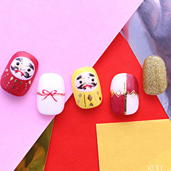 FUN SIDE MAKE FASHION x NAIL ART#S028 Geo-GD (Gold)