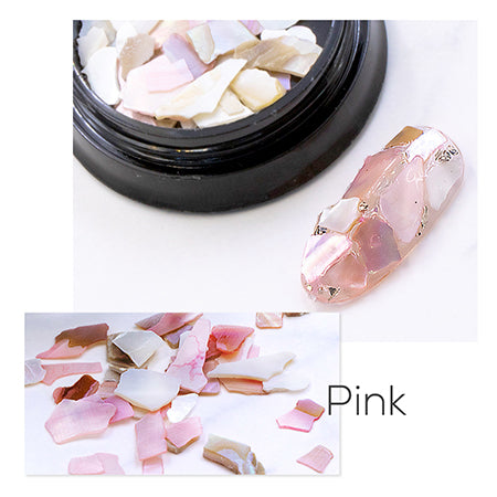 Bonnail BIG Shell Piece Pink
