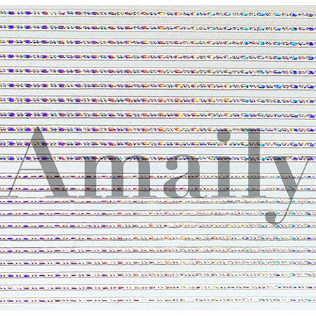 Amaily Nail Stickers No. 8-12 Decorative Lines (OS)