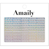 Amaily Nail Sticker No. 8-13 Waves