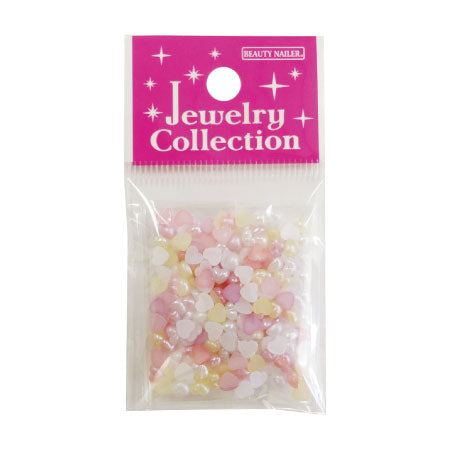 Beauty Nailer Jewelry Collection JC-22 Pearl Heart 6-Color Assort 3g