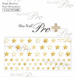 Sha-Nail Pro PLUS Star nail Sticker Gold