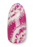 Deco Nail Sticker White DL-09W