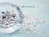 Nail Accessory Mini Star Silver 2mm x2mm