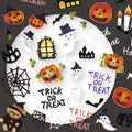 Re-cue Nail Sticker Halloween HW-1B 1sheet