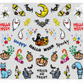 BN Halloween Nail Sticker Ghosts HON-03 (Discontinued Item)