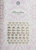 Pieadra Nail Sticker T02 Pink Gold