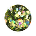 Erikonail ERI-144 Jewelry Collection Gold Hexagon Hologram 2-3mm