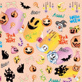 BN Halloween Nail Sticker HLN-01 (Discontinued Item)