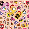 BN Halloween Nail Sticker Alice HLN-02 (Discontinued Item)