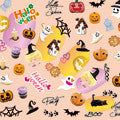 BN Halloween Nail Stickers Party HLN-03 (Discontinued Item)