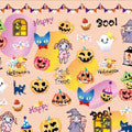 BN Halloween Nail Stickers Party HLN-07 (Discontinued Item)
