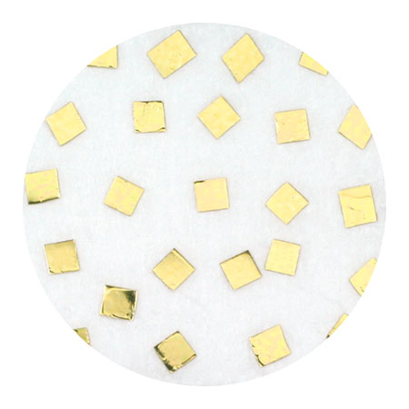 Erikonail ERI-89 Jewelry Collection Light Gold Square 1.5mm