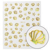 Nail art stickerSML-43 SHELL