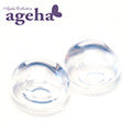 Ageha Collection Clear Dome 2pc