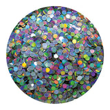 Erikonail ERI-67 Jewelry Collection Silver Round Hologram 1mm