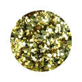 Erikonail ERI-42 Jewelry Collection Light Gold Round Hologram 1mm