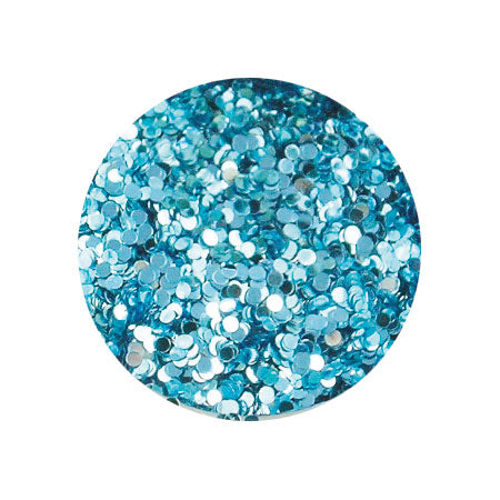 Erikonail ERI-45 Jewelry Collection Light Blue Round Hologram 1mm