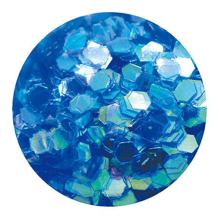 Erikonail ERI-83 Jewelry Collection Blue Aurora Hexagon Hologram (L)