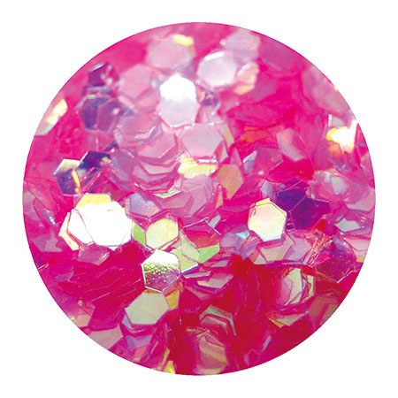 Erikonail ERI-84 Jewelry Collection Pink Aurora Hexagon Hologram (L)