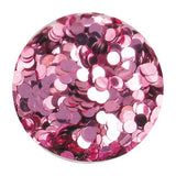 Erikonail ERI-49 Jewelry Collection Light Pink Round Hologram 2mm