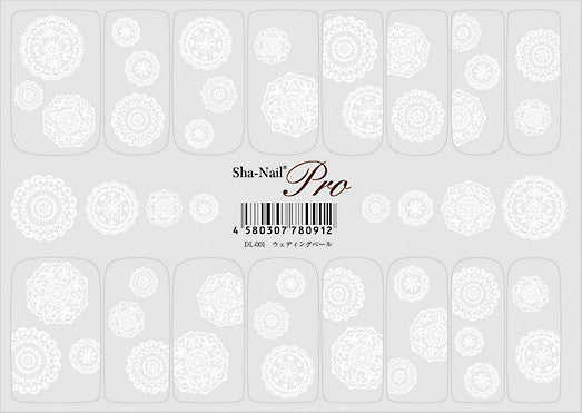 Sha-Nail Pro SP-DL-001 Wedding Vail Doilies 1sheet