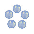 *Swarovski Air Blue Opal Rhinestones SS5  1gross (144pc)