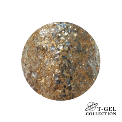 T-GEL COLLECTION TINY T007 G Gold Flakes 8 ml