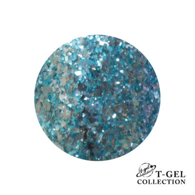 T-GEL COLLECTION TINY T010 G Blue Flakes 8 ml