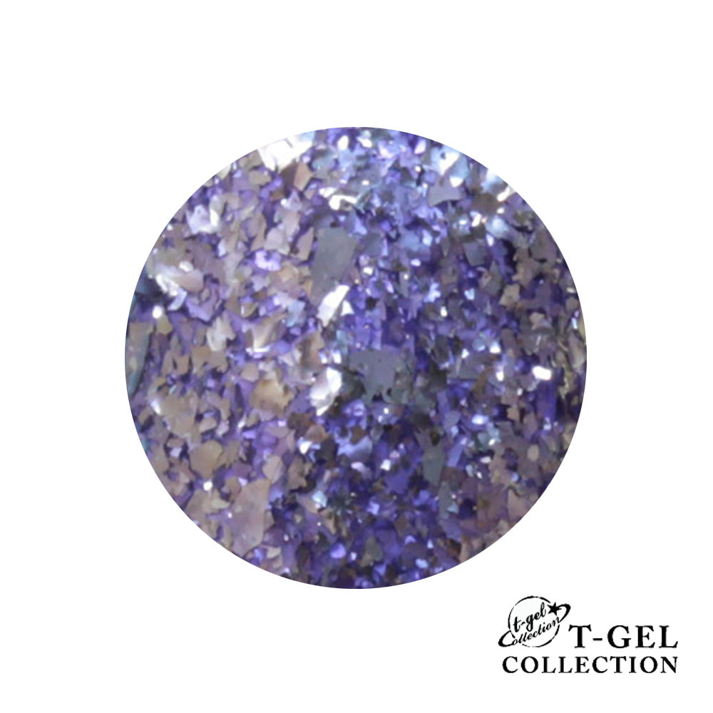 T-GEL COLLECTION TINY T011 G Purple Flakes 8 ml