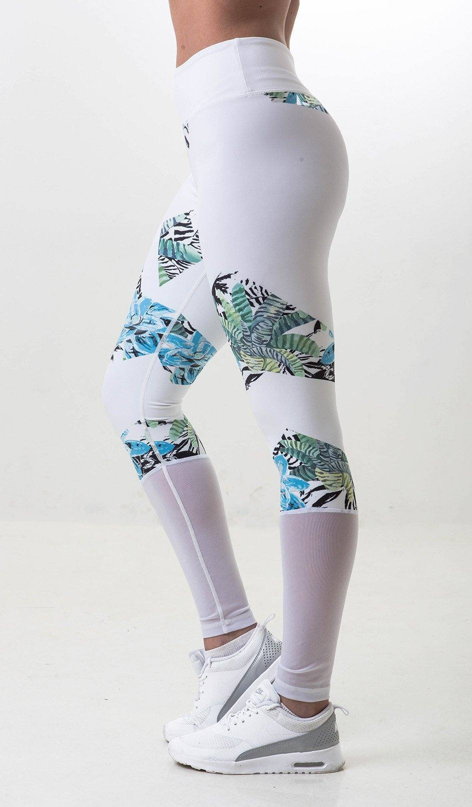 Summer Leggings - White