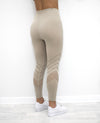 Athena Seamless Leggings - Cameo - Neo Activewear