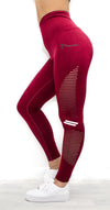 Era Seamless Leggings - Red - Neo Activewear