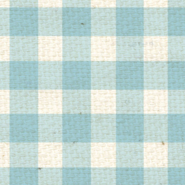*FBG8  French Blue Gingham Paper  8 1/2 x 11