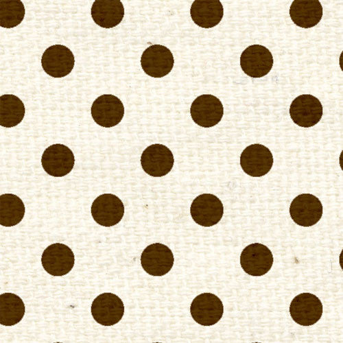 *CHCRPD8 Chocolate Cake Reverse Polka Dots 8 1/2 x 11