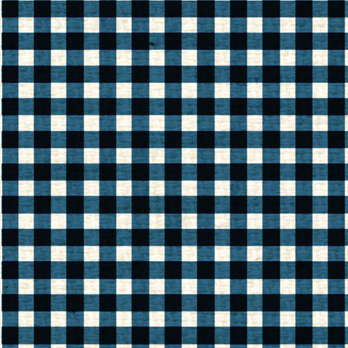 *BBPMG8  Blueberry Pie Mini Gingham 8 1/2 x 11