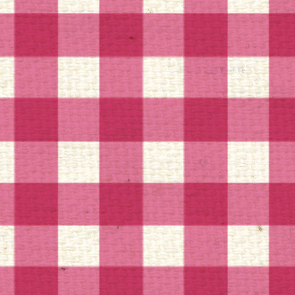 *PCG8  Pink Cosmos Gingham 8 1/2 x 11