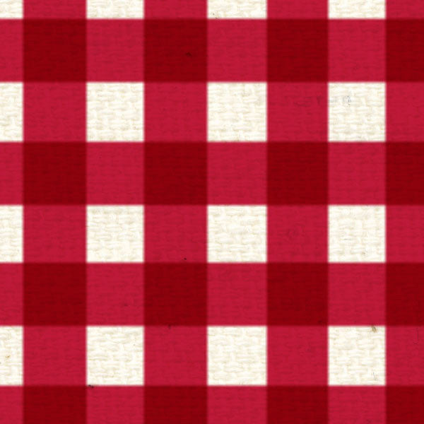*RWG8  Red Wagon Gingham 8 1/2 x 11