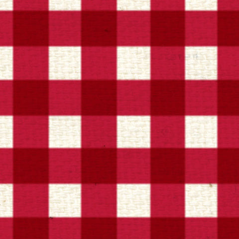 **RWG8  Red Wagon Gingham 8 1/2 x 11