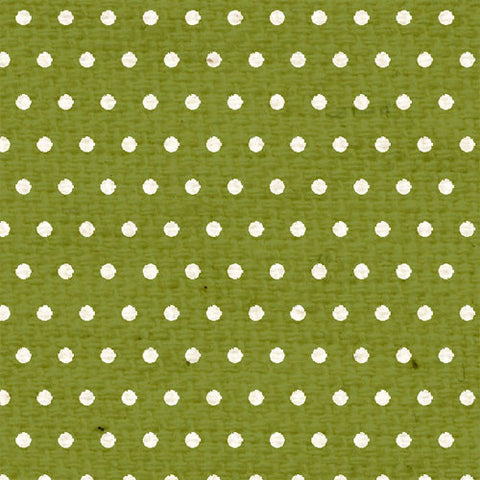 *IWGMD8  Inch Worm Green Mini Dots 8 1/2  x  11