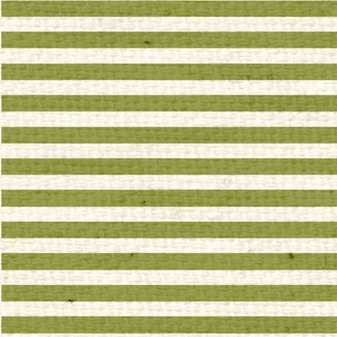 *IWGMS8  Inch Worm Green Mini Stripes 8 1/2 x 11