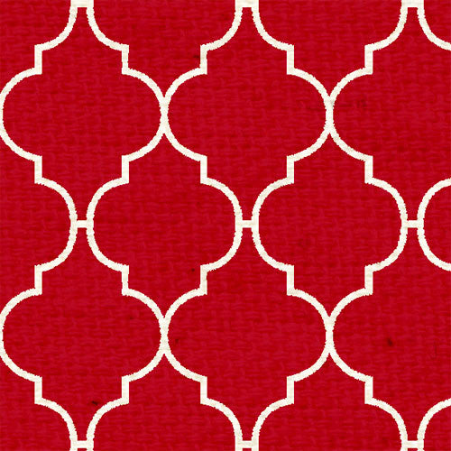 *RWQF8  Red Wagon Quatrefoil 8 1/2 x 11