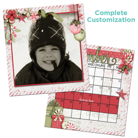 Square Personalized Custom Calendar