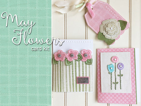 *****May Flowers Card Kit