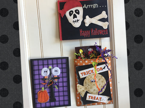 *********Arrrgh . . . Happy Halloween  Card Kit