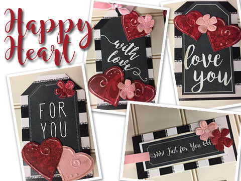 *****Happy Heart Tag Kit