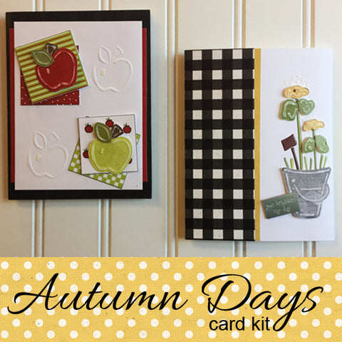 Autumn Days Card Kit