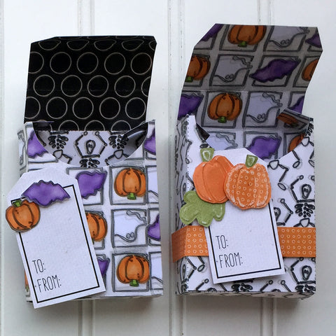 Halloween Crayon Boxes - set of 2