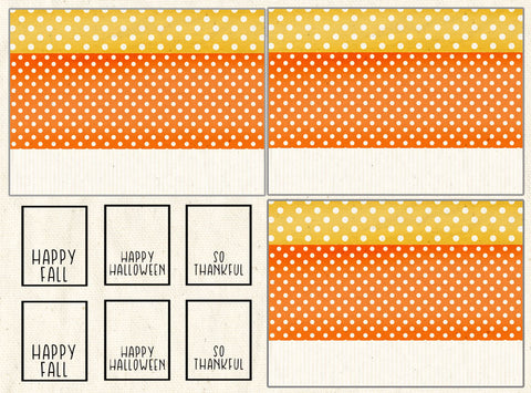 Candy Corn Treat Packets Only - Creates 3